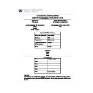 Preview of UW College of Arts & Sciences advancement event briefing template