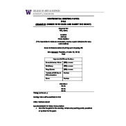 Preview of UW College of Arts & Sciences advancement general briefing template