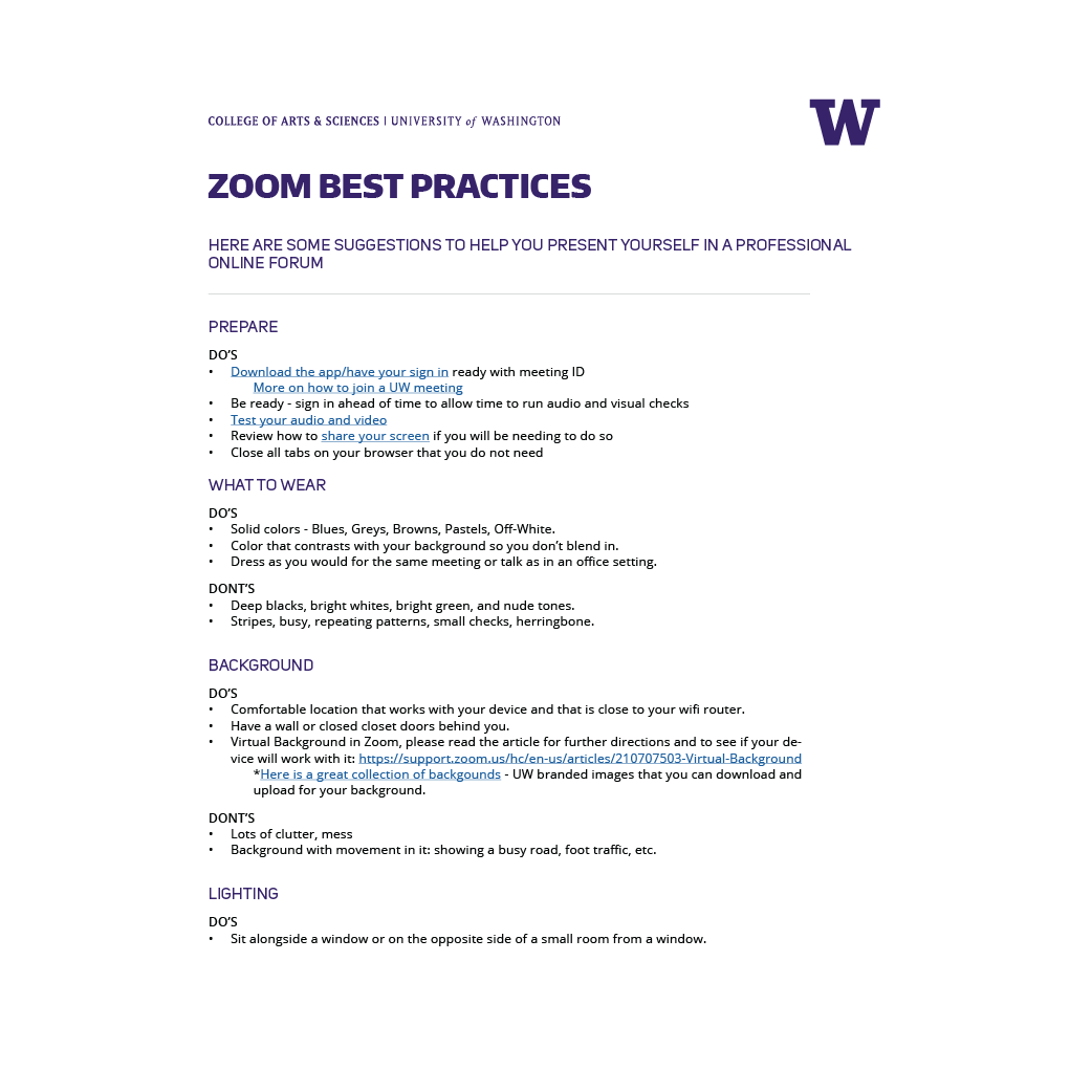 thumbnail of linked PDF for Zoom Best Practices